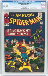 The Amazing Spider-Man #27 (Marvel, 1965) CGC FN 6.0 Cream to off-white pages