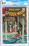 Silver Age (1956-1969):Superhero, The Amazing Spider-Man #33 (Marvel, 1966) CGC VF+ 8.5 Off-white pages....