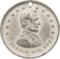 """Political:Tokens & Medals, Abraham Lincoln: """"Honest Old Abe"""" Token...."""