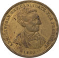 Political:Tokens & Medals, Abraham Lincoln: Campaign Token....