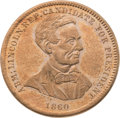 Political:Tokens & Medals, Abraham Lincoln: Gorgeous Medal....
