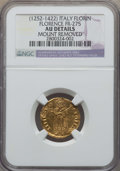 Italy, Italy: Republic (13th Cent.-1532) gold Fiorino d'oro ND (1327) AUDetails (Mount Removed) NGC,...