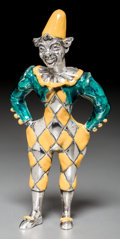 Silver Smalls, A Tiffany & Co. Silver and Enameled Circus Clown, Designed byGene Moore, New York, circa 1990. Marks: TIFFANY & CO.,STER...