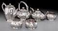 Silver Holloware, American, A Six-Piece James T. Woolley Silver Tea & Coffee Service,Boston, Massachusetts, early 20th century. Marks: JTW, WOOLLEY,... (Total: 6 Items)
