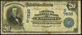 National Bank Notes:North Carolina, Gastonia, NC - $20 1902 Date Back Fr. 642 The Citizens NB Ch. # (S)7536. ...