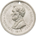 Political:Tokens & Medals, Abraham Lincoln: High Relief Medal by Key....