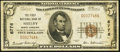National Bank Notes:North Carolina, Shelby, NC - $5 1929 Ty. 1 The First NB Ch. # 6776. ...