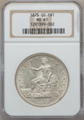 Trade Dollars, 1875-CC T$1 Type One Reverse MS61 NGC....