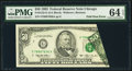 Error Notes:Foldovers, Fr. 2125-G $50 1993 Federal Reserve Note. PMG Choice Uncirculated 64 EPQ.. ...