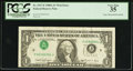 Error Notes:Inverted Third Printings, Fr. 1917-F $1 1988A Web Federal Reserve Note. PCGS Very Fine 35.....