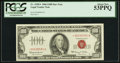Small Size:Legal Tender Notes, Fr. 1550* $100 1966 Legal Tender Note. PCGS About New 53PPQ.. ...