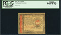Colonial Notes:Continental Congress Issues, Continental Currency January 14, 1779 $65 PCGS Gem New 66PPQ.. ...