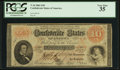 Confederate Notes:1861 Issues, T24 $10 1861 PF-7 Cr. 161.. ...