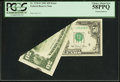 Error Notes:Foldovers, Fr. 2120-E $50 1981 Federal Reserve Note. PCGS Choice About New 58PPQ.. ...