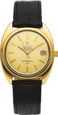 Timepieces:Wristwatch, Omega 168.017 Steel & Gold Constellation Automatic Chronometer, circa 1968. ...