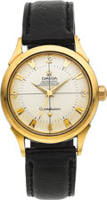 Timepieces:Wristwatch, Omega Vintage Steel & Gold Constellation Automatic Chronometer,circa 1952. ...