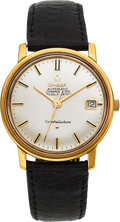 Timepieces:Wristwatch, Omega 168.010 Gold Constellation Automatic Chronometer, circa 1966. ...
