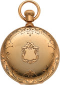 Timepieces:Pocket (pre 1900) , Waltham Am'n. Watch Co. 18k Gold Model 72 Hunters Case, circa 1882. ...