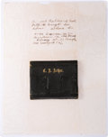 Political:Presidential Relics, Chester Alan Arthur: Personally-owned Leather Wallet....