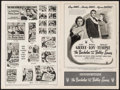 """Movie Posters:Comedy, The Bachelor and the Bobby Soxer & Others Lot (RKO, 1947). Uncut Pressbooks (3) (Multiple Pages, 18"""" X 12"""", 9.25"""" x 14.75"""").... (Total: 3 Items)"""