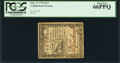 Colonial Notes:Continental Congress Issues, Continental Currency February 17, 1776 $2/3 PCGS Gem New 66PPQ.....