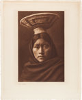 Movie/TV Memorabilia:Photos, A Bruce Willis Owned Vintage Native American Photo by Edward S.Curtis, 1907....