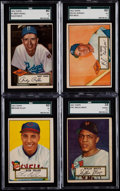 Baseball Cards:Sets, 1952 Topps Baseball Low Numbers Near Set (307/310)....