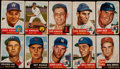 Baseball Cards:Lots, 1953 Topps Baseball Collection (153) With (40) High Numbers!...