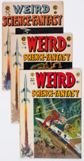 Golden Age (1938-1955):Science Fiction, Weird Science-Fantasy Group of 6 (EC, 1954-56) Condition: AverageVG-.... (Total: 6 Comic Books)