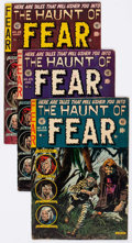 Golden Age (1938-1955):Horror, Haunt of Fear #23 and 25-27 Group (EC, 1954) Condition: AverageVG.... (Total: 4 Comic Books)