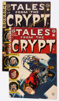 Golden Age (1938-1955):Horror, Tales From the Crypt #43 and 44 Group (EC, 1954) Condition: AverageVG+.... (Total: 2 Comic Books)