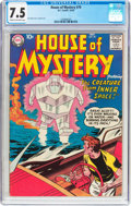 Silver Age (1956-1969):Horror, House of Mystery #79 (DC, 1958) CGC VF- 7.5 Cream to off-whitepages....