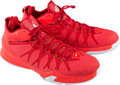 Basketball Collectibles:Others, 2015 Chris Paul Game Worn Los Angeles Clippers Sneakers. ...