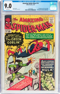 The Amazing Spider-Man #14 (Marvel, 1964) CGC VF/NM 9.0 White pages