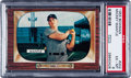Baseball Cards:Singles (1950-1959), 1955 Bowman Mickey Mantle #202 PSA EX-MT 6....