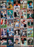 Baseball Cards:Lots, Signed Baseball Stars & HoFers Card Collection (25)....
