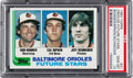 Baseball Cards:Singles (1970-Now), 1982 Topps Orioles Future Stars - Cal Ripken Jr. #21 PSA Gem Mint10....