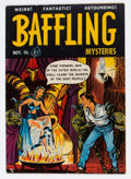 Golden Age (1938-1955):Horror, Baffling Mysteries #5 (Ace, 1951) Condition: VG....