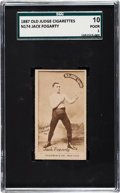 Boxing Cards:General, 1887 N174 Old Judge Prizefighters Jack Fogarty SGC 10 Poor 1....