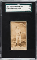 Boxing Cards:General, 1887 N174 Old Judge Prizefighters Charley Mitchell SGC 10 Poor1....