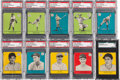 Baseball Cards:Lots, 1941 R324 Goudey PSA/SGC Graded Collection (10). ...