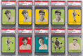 Baseball Cards:Lots, 1941 R324 Goudey PSA Graded Collection (10). ...