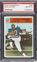Football Cards:Singles (1960-1969), 1966 Philadelphia Gale Sayers #38 PSA NM-MT 8....