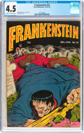 Golden Age (1938-1955):Horror, Frankenstein Comics #22 (Prize, 1953) CGC VG+ 4.5 Cream tooff-white pages....