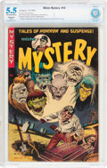Golden Age (1938-1955):Horror, Mister Mystery #10 (Aragon, 1953) CBCS Restored (Slight) FN- 5.5Off-white to white pages....