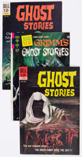 Silver Age (1956-1969):Horror, Ghost Stories/Grimm's Ghost Stories Group of 50 (Dell/Gold Key,1960s) Condition: Average FN/VF.... (Total: 50 Comic Books)