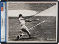 Baseball Collectibles:Photos, 1961 Roger Maris 61st Home Run Original News Photograph, PSA/DNAType 1....