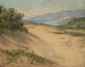 Fine Art - Painting, American:Modern  (1900 1949)  , William Franklin Jackson (American, 1850-1936). Entrance to theGolden Gate, San Francisco. Oil on board. 8 x 10-1/2 inc...