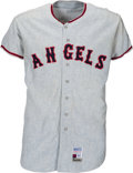 Baseball Collectibles:Uniforms, 1969 Mike Roarke Game Worn California Angels Jersey....