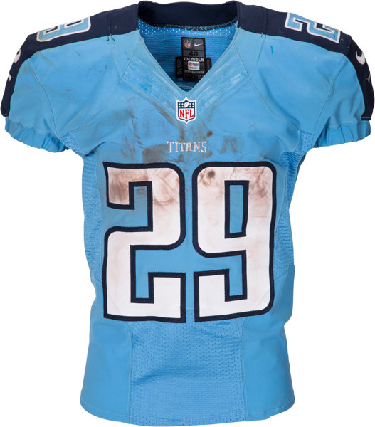 online store c4ffa 9ef09 2016 DeMarco Murray Game Worn, Signed, Unwashed Tennessee ...
